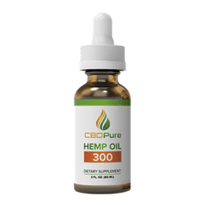 CBDPure 300 Full Spectrum Hemp CBD Oil