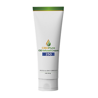 CBDPure Full Spectrum Hemp CBD Muscle Cream