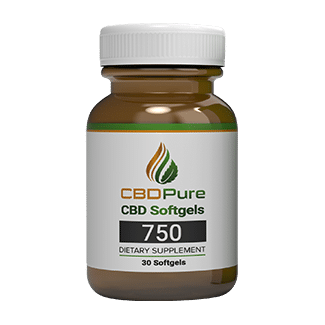 CBDPure Full Spectrum Hemp CBD Soft Gel Capsules