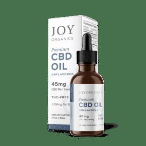 Joy Organics CBD Oil Tincture 1350mg Bottle