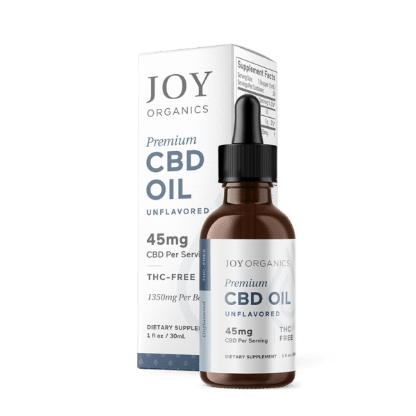 Joy Organics CBD Oil Tincture 1350mg Bottle