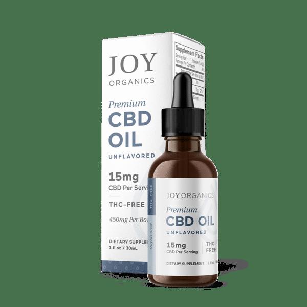 Joy Organics CBD Oil Tincture 450mg Bottle