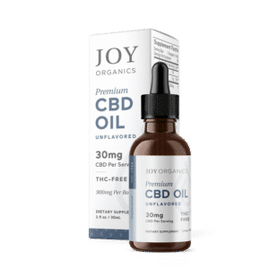 Joy Organics CBD Oil Tincture 900mg Bottle