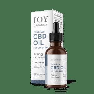 Joy Organics CBD Oil Tincture 900mg Bottle