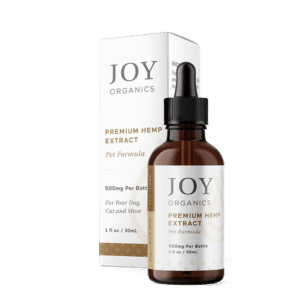 Joy Organics CBD Oil Tincture For Pets 500mg Bottle